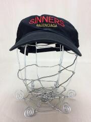 18SS/SINNERS/ロゴ/キャップ/L/59/BLK/セカスト/ベースボールキャップ