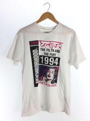 NEIGHBORHOOD/Tシャツ/L/コットン/WHT/C-TEE . SS - 201PCNH-ST11