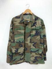 95年製/8415-01-084-1646/長袖シャツ/M/コットン/KHK/カモフラ