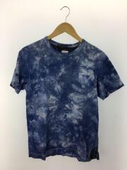 タイダイ/Tシャツ/XS/コットン/BLU/HE-T129/AD2009