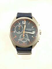 BEAMS/40TH Anniversary/KHAKI/クォーツ腕時計/アナログ/キャンバス/H893020