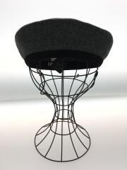 la maison de lyllis/ベレー帽/サイズ57cm/ポリエステル/GRY/タグ付