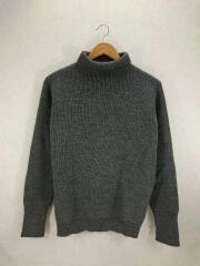 アンデルセンアンデルセン/7G/セイラーセーター/ハイネック/セーター(厚手)/M/ウール/GRY