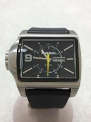 クォーツ腕時計/アナログ/BLK/ディーゼル/DZ1313/ブラック