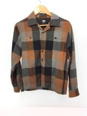 長袖シャツ/S/ウール/マルチカラー/チェック/ラッツ/11rs-1102/ウールボックスシャツ