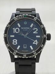 THE DIPLOMAT/クォーツ腕時計/アナログ/ステンレス/BLK/BLK/NA2771421