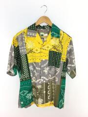ELEPHANT BRANDオープンカラーシャツ2/M/コットン/マルチカラー/総柄/19051464024010