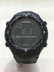 X-LADER/クォーツ腕時計/デジタル/ラバー/BLK/BLK/内側ヨゴレ有
