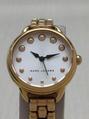 クォーツ腕時計/アナログ/ステンレス/SLV/GLD/MJ3496