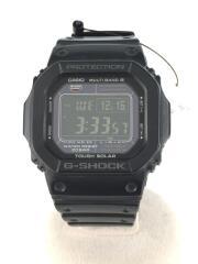 クォーツ腕時計・G-SHOCK/デジタル/ラバー/BLK/BLK/GW-M5610-1BJF/ヨゴレ有
