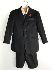 スーツ/120cm/ポリエステル/BLK/無地