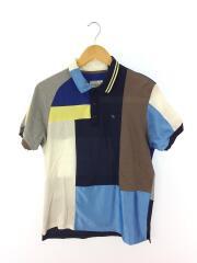 ポロシャツ/2/コットン/NVY/総柄
