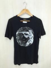 Tシャツ/S/コットン/BLK