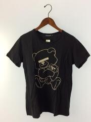 アンダーカバー/目隠しベアTシャツ/S/コットン/ブラック/03-3470-0850