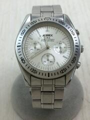 アヴィレックス/クォーツ腕時計/アナログ/ステンレス/シルバー/AVX-600