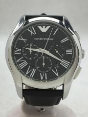 クォーツ腕時計/アナログ/ステンレス/ブラック/ブラック/AR-1700