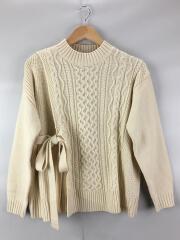 セーター(薄手)/M/アクリル/ホワイト/2161142