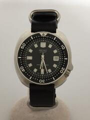 6105-8110/自動巻腕時計/アナログ/セカンドダイバー/リューズ不調