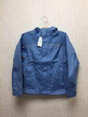 RN51884/キッズ/ガールズ/ジャケット/S/ポリエステル/BLU/ブルー