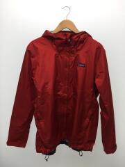 83802FA16/TORRENTSHELL JACKET/ナイロンジャケット/L/RED/レッド/焼け穴有