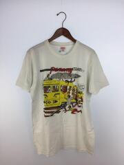17SS LIMONIOUS PUNANY TRAIN TEE/Tシャツ/M/コットン/WHT