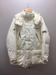 053-221033/ダウンジャケット/L/ゴアテックス/WHT/ホワイト/ヨゴレ有/ストッパー欠品