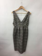 18モデル/ジャンパースカート/スカート/1/ポリエステル/BRW/チェック/SWFO184052
