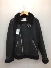 ジャケット/HKW8712ブルゾン/ブラック