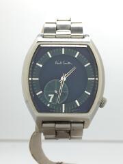 No.7/ナンバーセブン/1045-T019421/クォーツ腕時計/アナログ/ステンレス/ネイビー