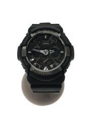 G-SHOCK/Gショック/GA-200/クォーツ腕時計/デジアナ/ラバー/ブラック
