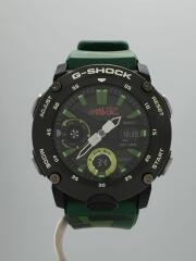 クォーツ腕時計・G-SHOCK/デジアナ/グリーン/GA-2000GZ-3AJR