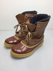 KAUFMAN CANADA BOOTS/ブーツ/US8/ブラウン/カナダ製/レザー