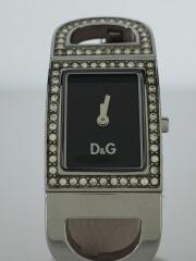 クォーツ腕時計/アナログ/ステンレス/BLK/DW0579