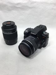 デジタル一眼カメラ α55 SLT-A55VY ダブルズームレンズキット/中古