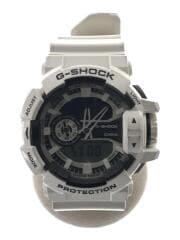 クォーツ腕時計・G-SHOCK/デジアナ/WHT/WHT