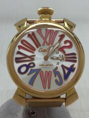 腕時計/アナログ/GLD