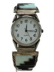 クォーツ腕時計/アナログ/--/WHT/SLV/Roger Francisco/◆ロジャーフランシスコ