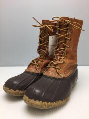 ブーツ/--/BRW/レザー/70s/ソール減り有/履きシワ有