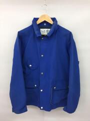ジャケット/M/コットン/BLU/カーメルジャケット/襟、袖ヨゴレ有
