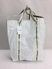セイルクロスロゴテープショルダーバッグ/1000611935/ショルダーバッグ/PVC/WHT