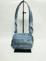 20SS/Small Shoulder Bag/ショルダーバッグ/ナイロン/BLU/無地/メッシュ