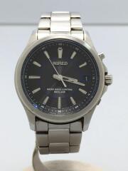 クォーツ腕時計/アナログ/ステンレス/GRY/7B52-0AS0