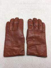 手袋/made in ITALY/内側カシミア100%/シミ有/レザー/BRW
