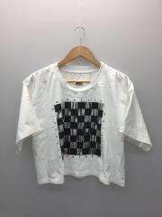 19SS/ボードゲームプリントカットソー/S52GC0094/Tシャツ/M/コットン/WHT