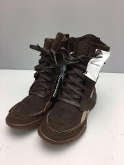 ブーツ/22cm/BRW/スウェード