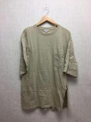 Tシャツ/2/コットン/BEG/無地/使用感有