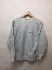 REVERSE WEAVE/90s/MADE IN USA/刺繍トリコタグ/KIDS XL/コットン/GRY