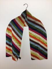 スカーフ/シルク/マルチカラー/ユニセックス
