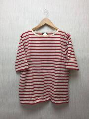 Tシャツ/1/コットン/RED/ボーダー