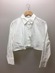 レイヤードシャツ/1220510093-0/長袖シャツ/FREE/コットン/WHT/無地